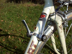 How to use old style bicycle gear shifters