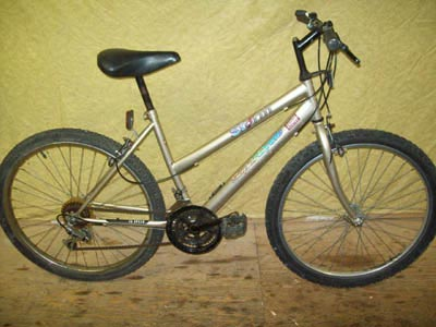 ladies' mountain bikes with slanted frames