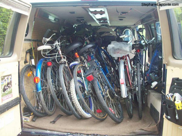 FREE bike removal service, donate your bike for recycling - StephaneLapointe.com