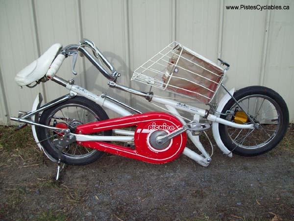Photo Velo Pliant Bridgestone Picnica Folding Bike 28 Jpg Album