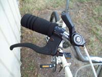 bike shifters used on older hybrids, mountain bikes and city bikes:
